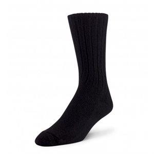 Chaussettes Bivouac laine d'agneau noir