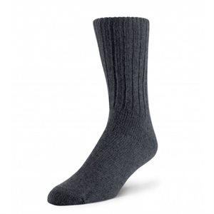 Chaussettes Bivouac laine d'agneau gris