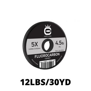LEADER MATERIAL FLUOROCARBON 12LBS