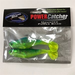 "POWER CATCHER 5.5"" TIGER GREEN"