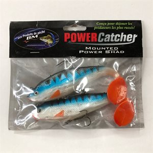 "POWER CATCHER 6"" TIGER BLUE / RED TAIL"