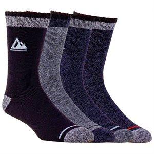 Chaussettes homme marine 7-12 4 paires