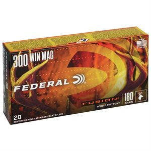 FUSION MUNITION CAL. 300 WIN MAG 180 GR F300WFS3