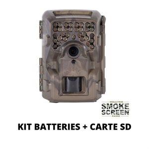 Combo Caméra M-4000i + Batteries et Carte SD
