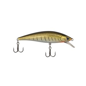 "Poisson nageur Puncher 2 3 / 8"" Natural Gold Shiner"