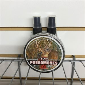 Ens. phéromones + 2 activateurs chevreuil mâle