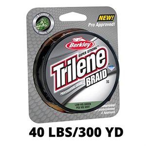 Ligne TRILENE BRAID 40lbs / 300yd