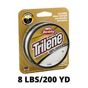 Ligne TRILENE 100% Fluorocarbon Professional Grade 8lbs / 200yd