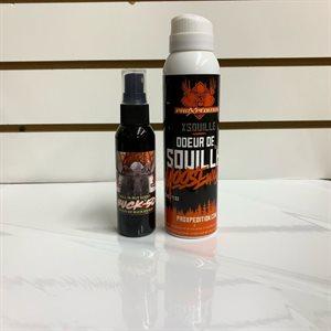 COMBO SOUILLE POUR ORIGNAL BUCK-50 + X-SOUILLE BUCK-50-X-SOUILLE