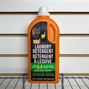 Détergent à lessive sans odeurs 3D+ 32oz.